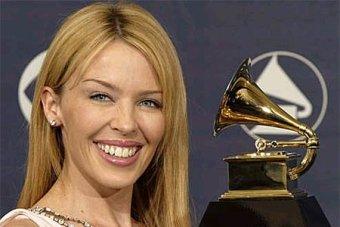 Kylie otrzymuje nagrodę Grammy