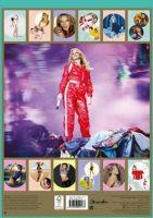 Kylie 2020 Calendar back cover image